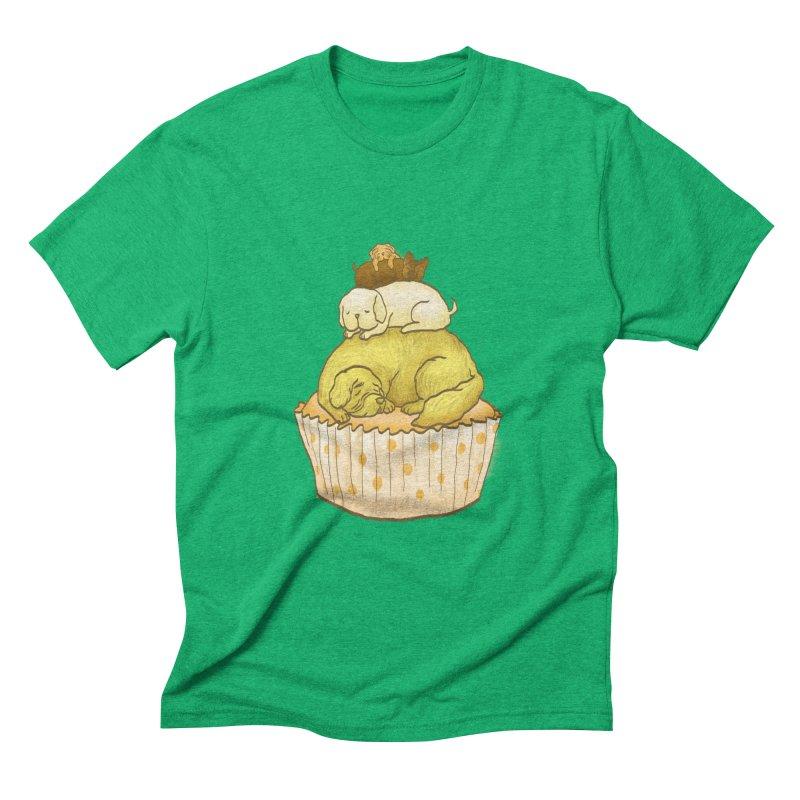 Pupcake Men's Triblend T-shirt by flyazhel's Artist Shop