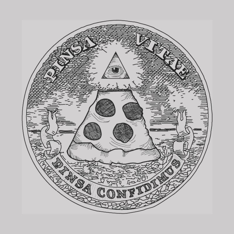 In Pizza We Trust None  by flyazhel's Artist Shop