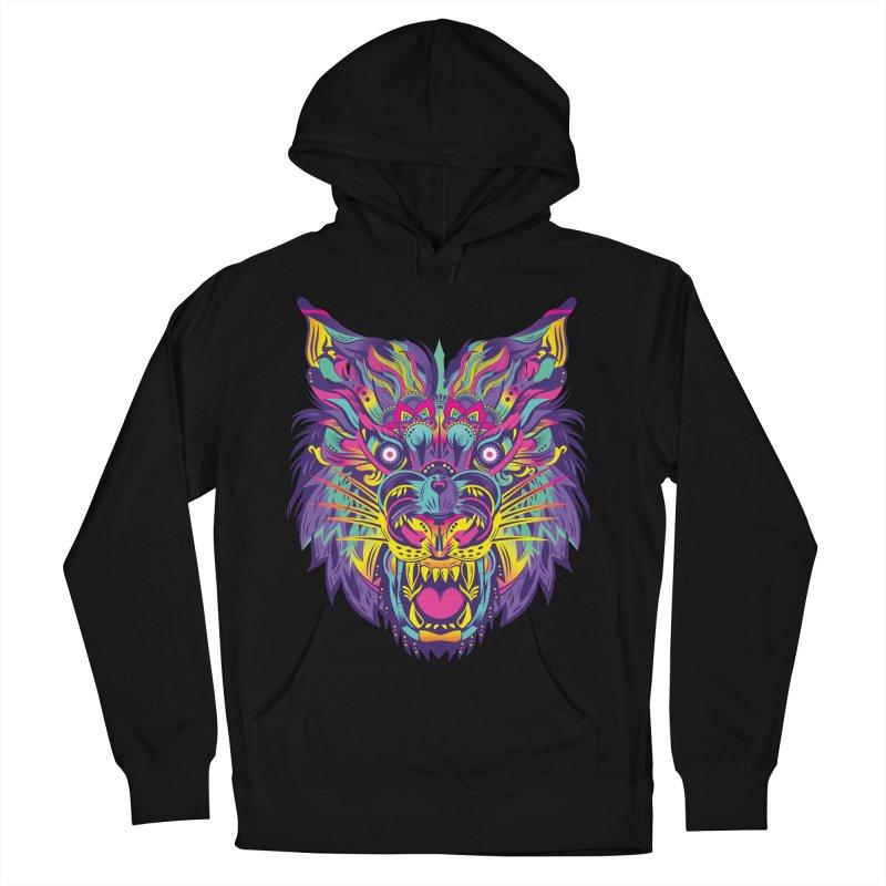 Rainbow Tiger Women's Pullover Hoody by flydesignstudio's Artist Shop