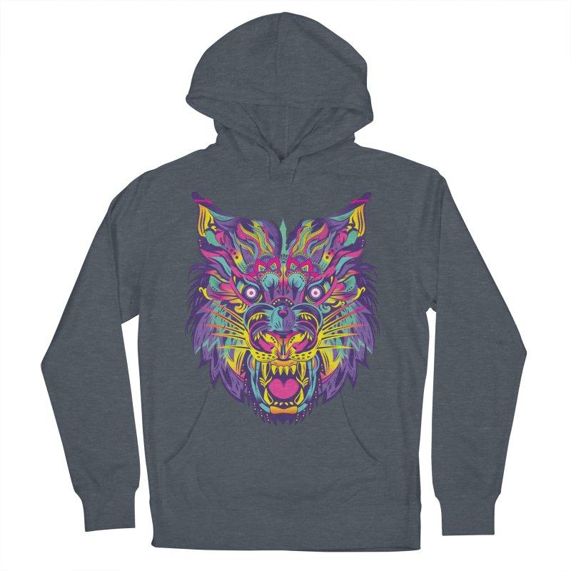 Rainbow Tiger Men's Pullover Hoody by flydesignstudio's Artist Shop