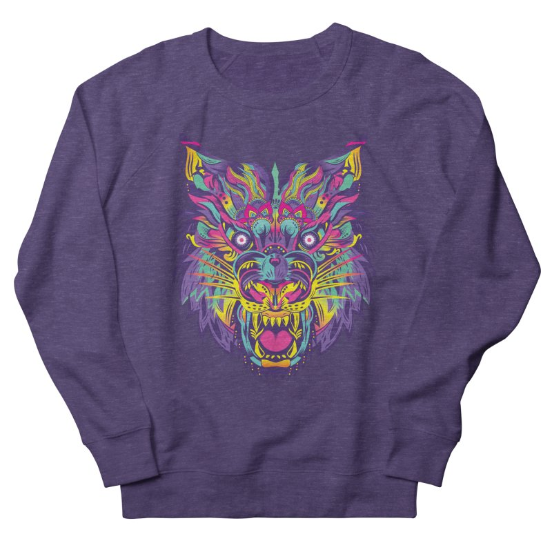 Rainbow Tiger Women's Sweatshirt by flydesignstudio's Artist Shop
