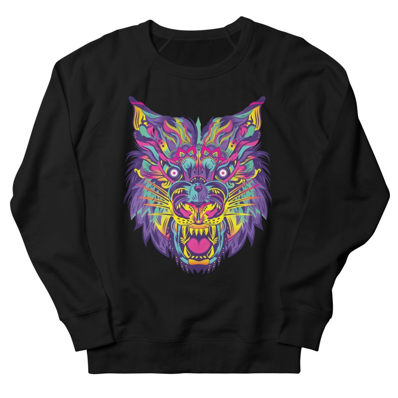 Rainbow Tiger Men's Sweatshirt by flydesignstudio's Artist Shop