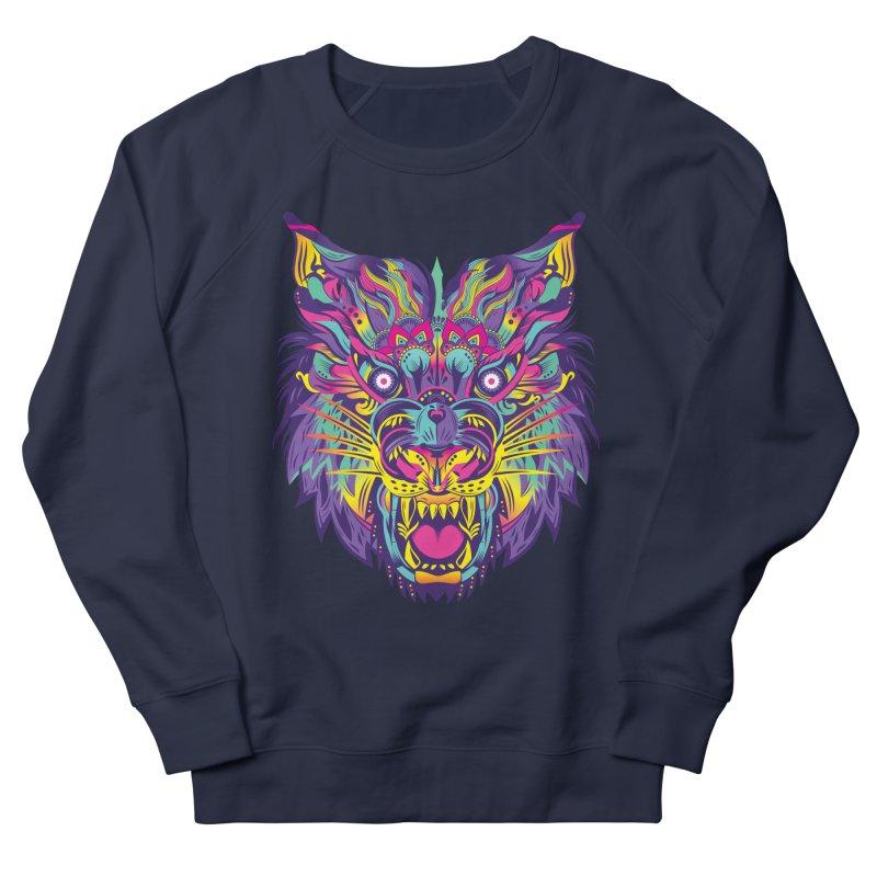 Rainbow Tiger Men's Sweatshirt by flydesignstudio's Artist Shop