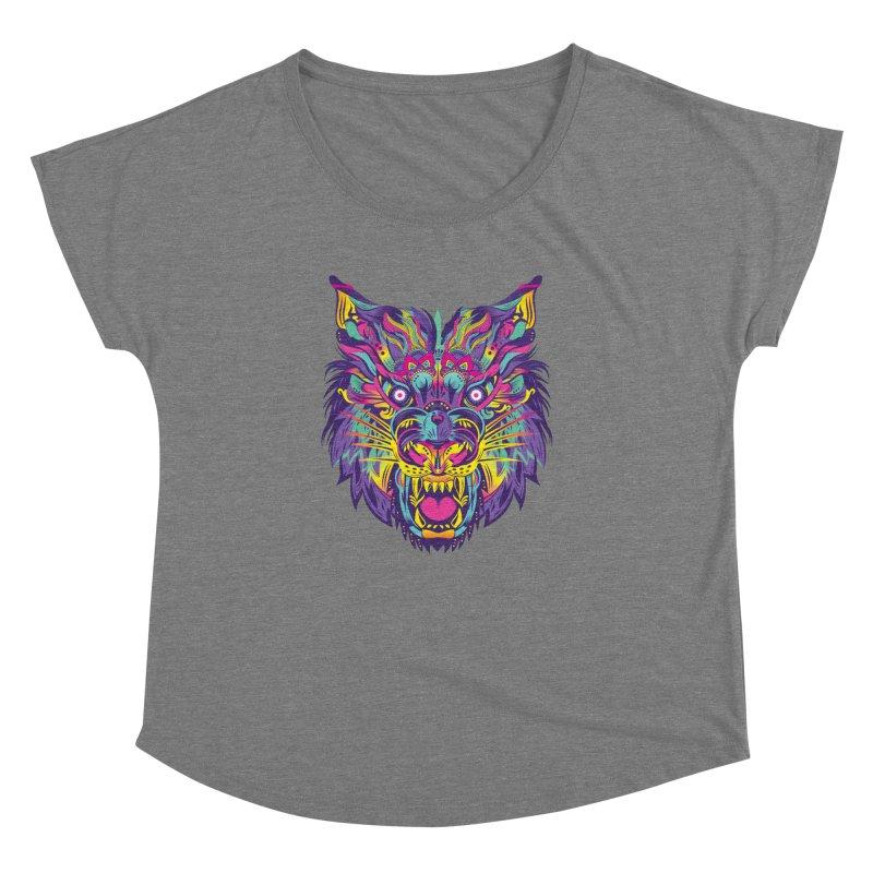 Rainbow Tiger Women's Dolman by flydesignstudio's Artist Shop