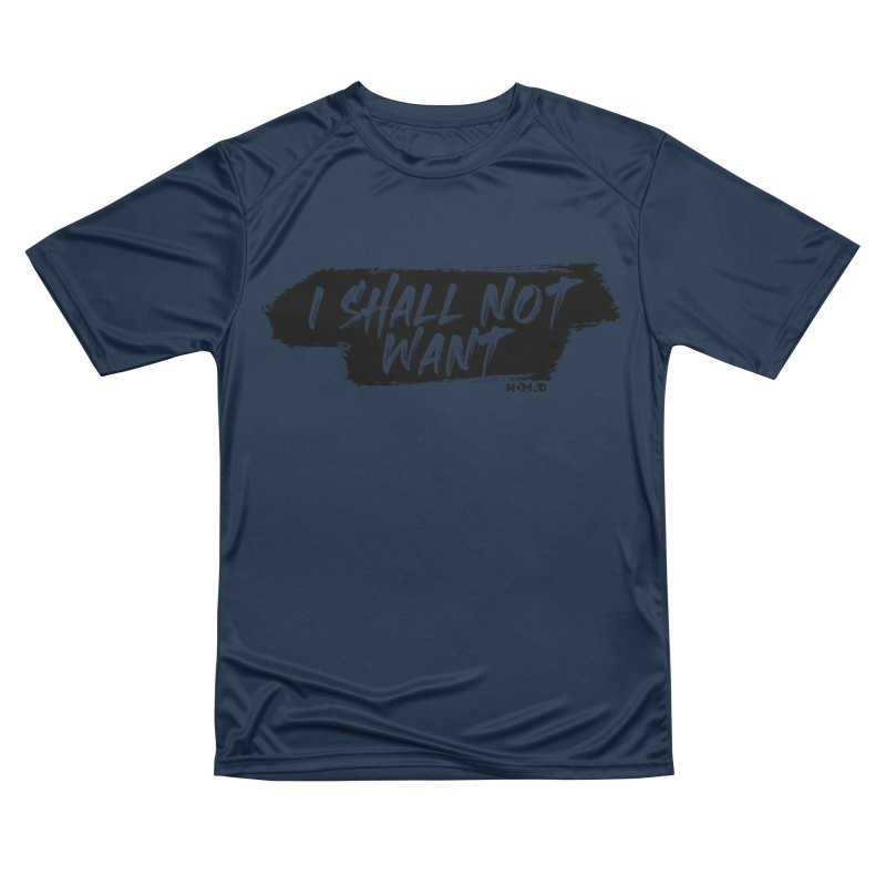 NOMAD - I Shall Not Want (Light Colors) Men's T-Shirt by Flyers by Alex's Shop
