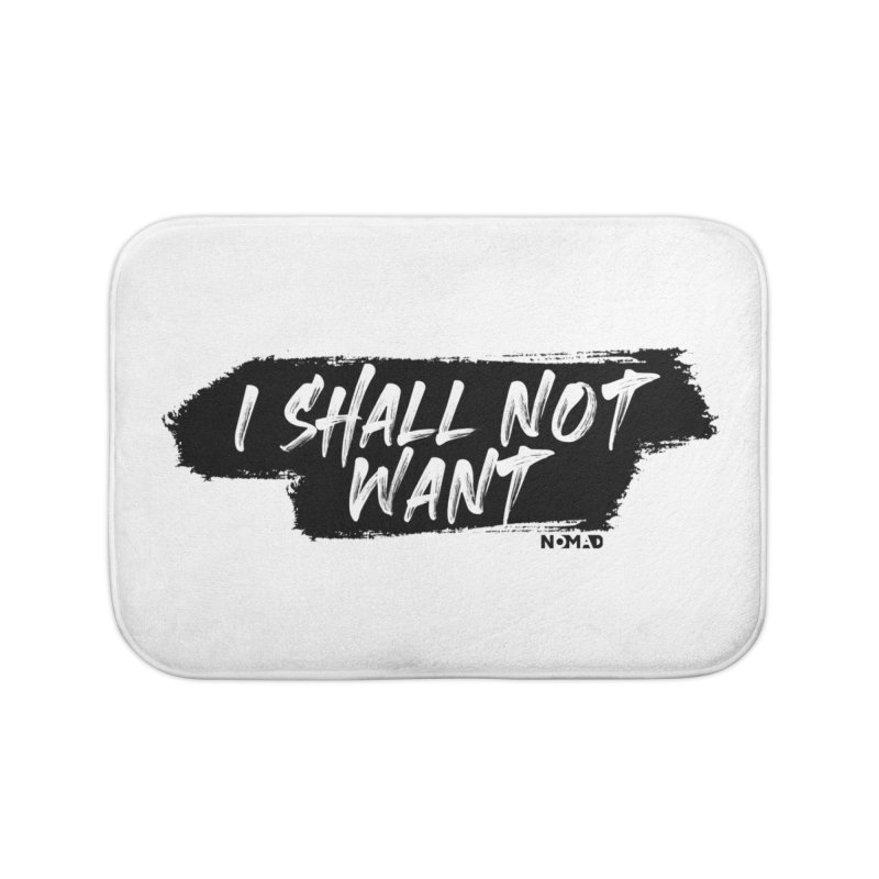 NOMAD - I Shall Not Want (Light Colors) Home Bath Mat by Flyers by Alex's Shop