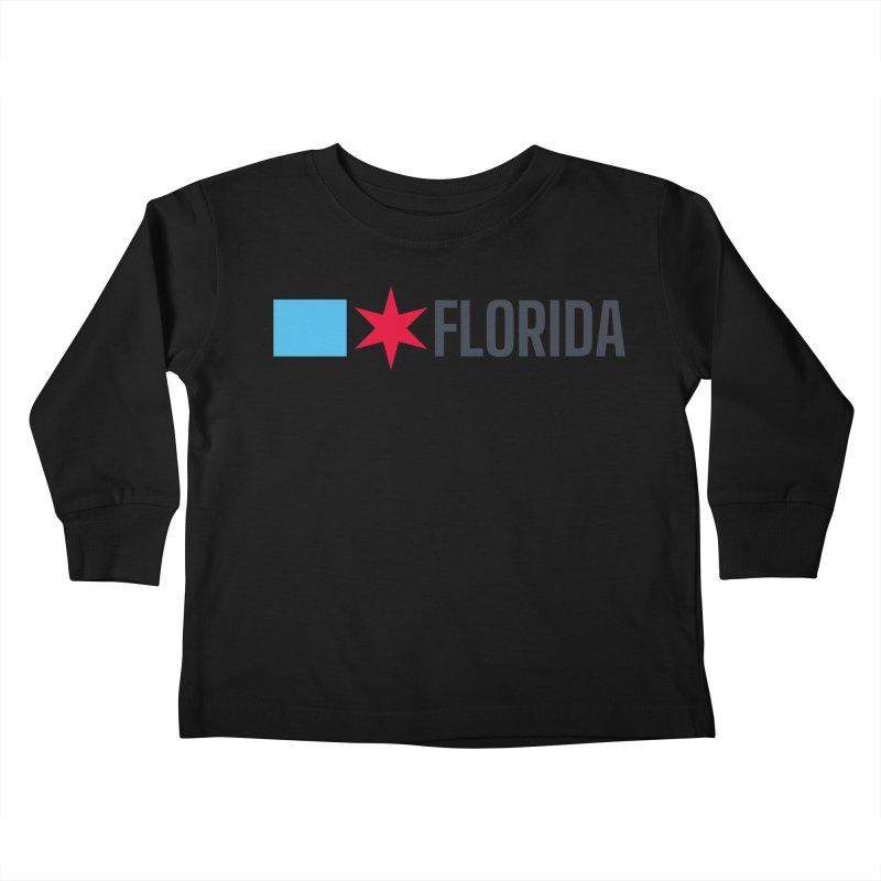 Florida Chicagoan Kids Toddler Longsleeve T-Shirt by Flyers by Alex's Shop