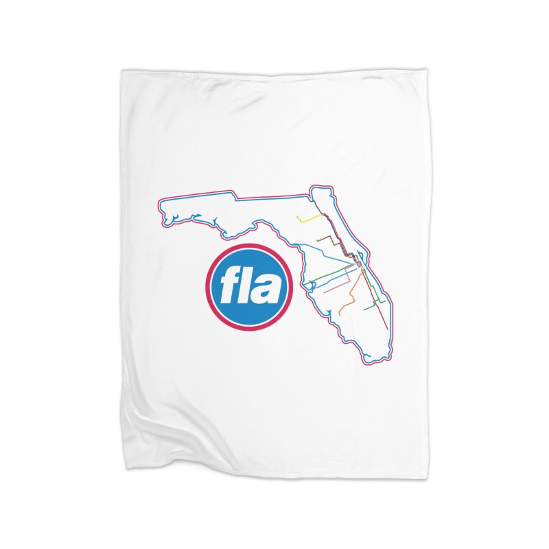FLA Transit Authority Home Blanket by Flyers by Alex's Shop