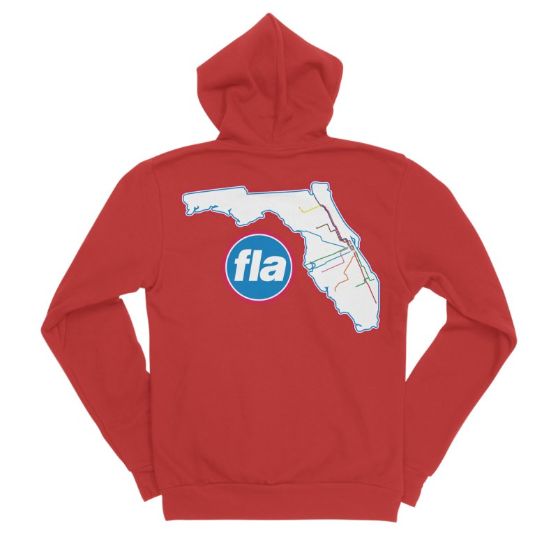 FLA Transit Authority Women's Zip-Up Hoody by Flyers by Alex's Shop