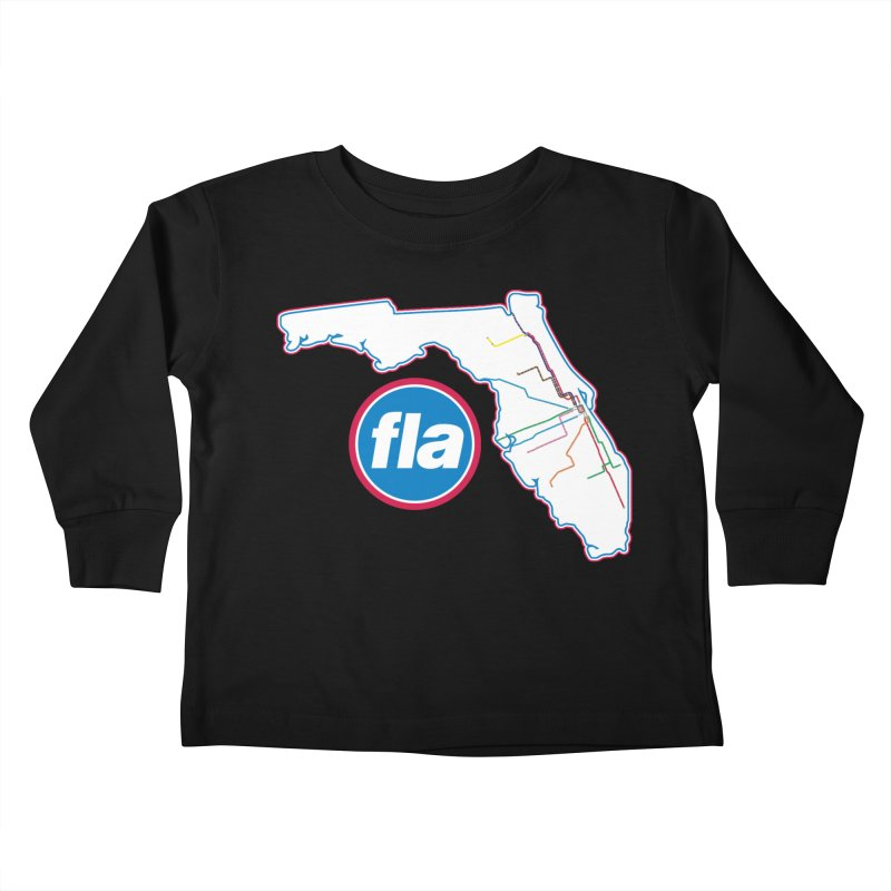 FLA Transit Authority Kids Toddler Longsleeve T-Shirt by Flyers by Alex's Shop