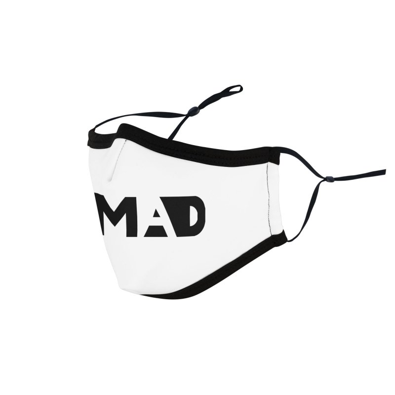 Nomad Logo for Light Colors Accessories Face Mask by Flyers by Alex's Shop