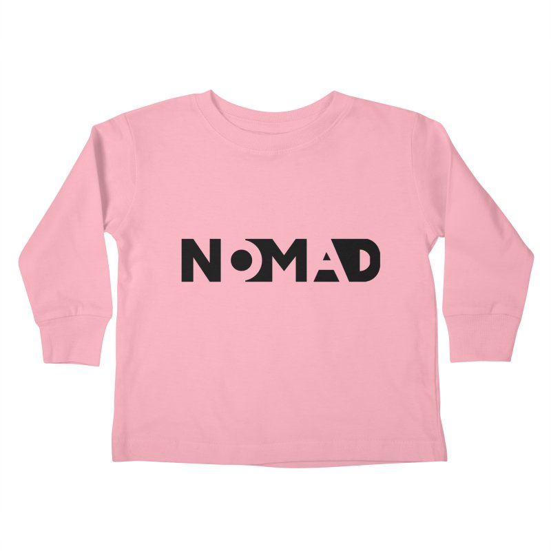 Nomad Logo for Light Colors Kids Toddler Longsleeve T-Shirt by Flyers by Alex's Shop