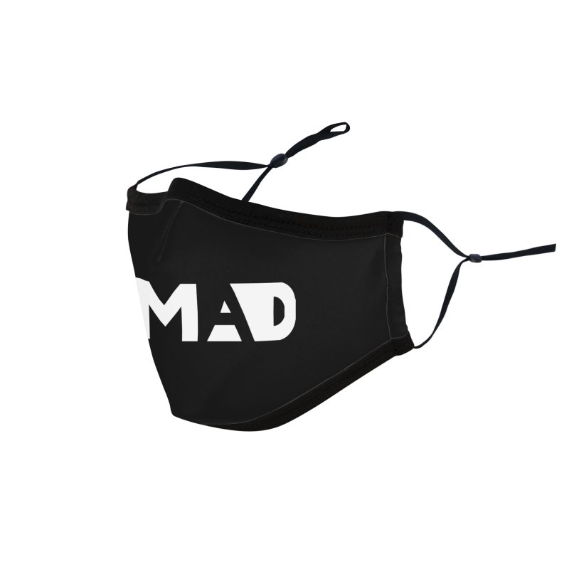 Nomad Logo for Dark Colors Accessories Face Mask by Flyers by Alex's Shop