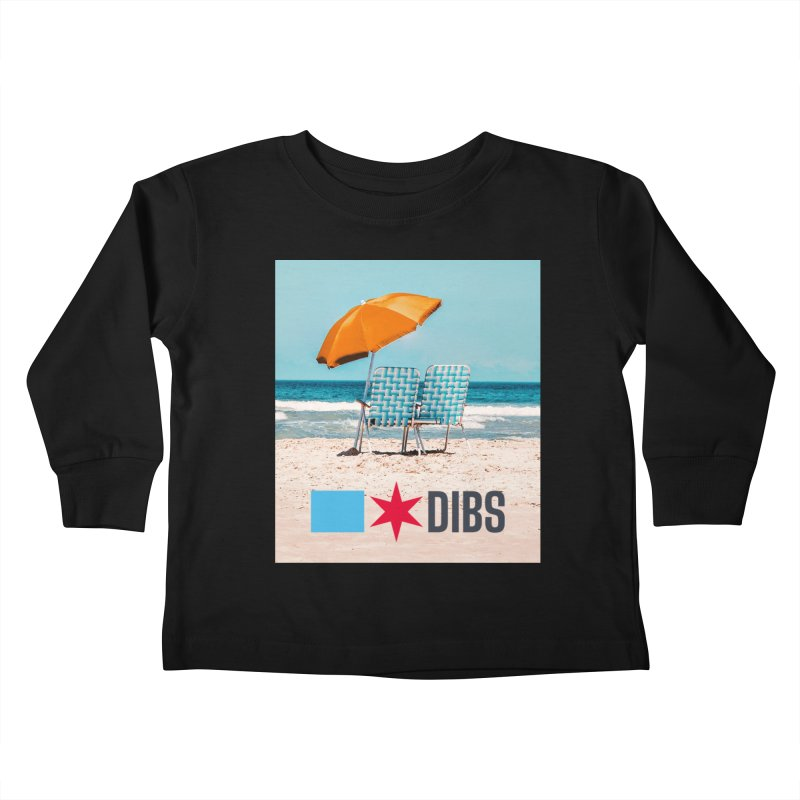 Dibs Kids Toddler Longsleeve T-Shirt by Flyers by Alex's Shop