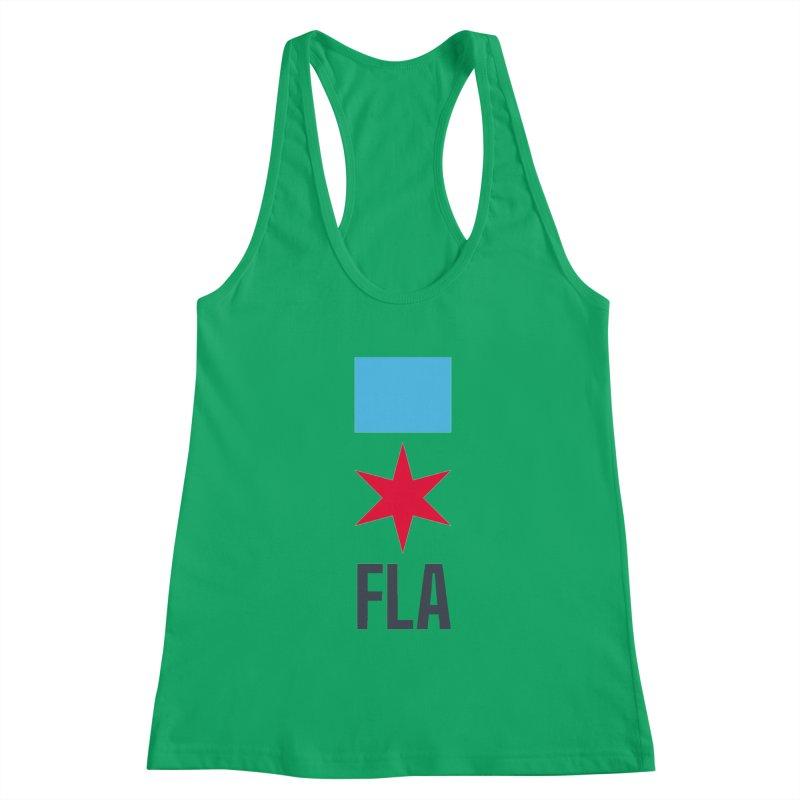 FLA Women's Tank by Flyers by Alex's Shop