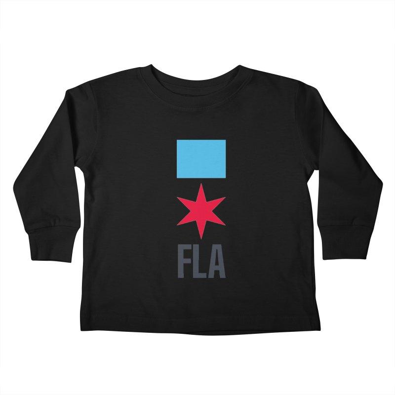 FLA Kids Toddler Longsleeve T-Shirt by Flyers by Alex's Shop