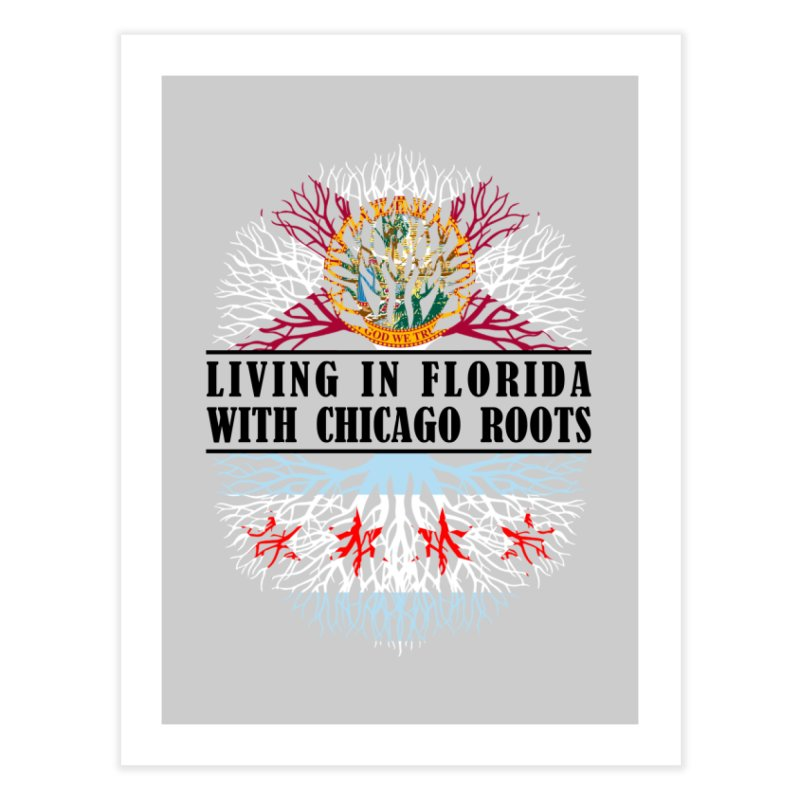Roots Home Fine Art Print by Flyers by Alex's Shop
