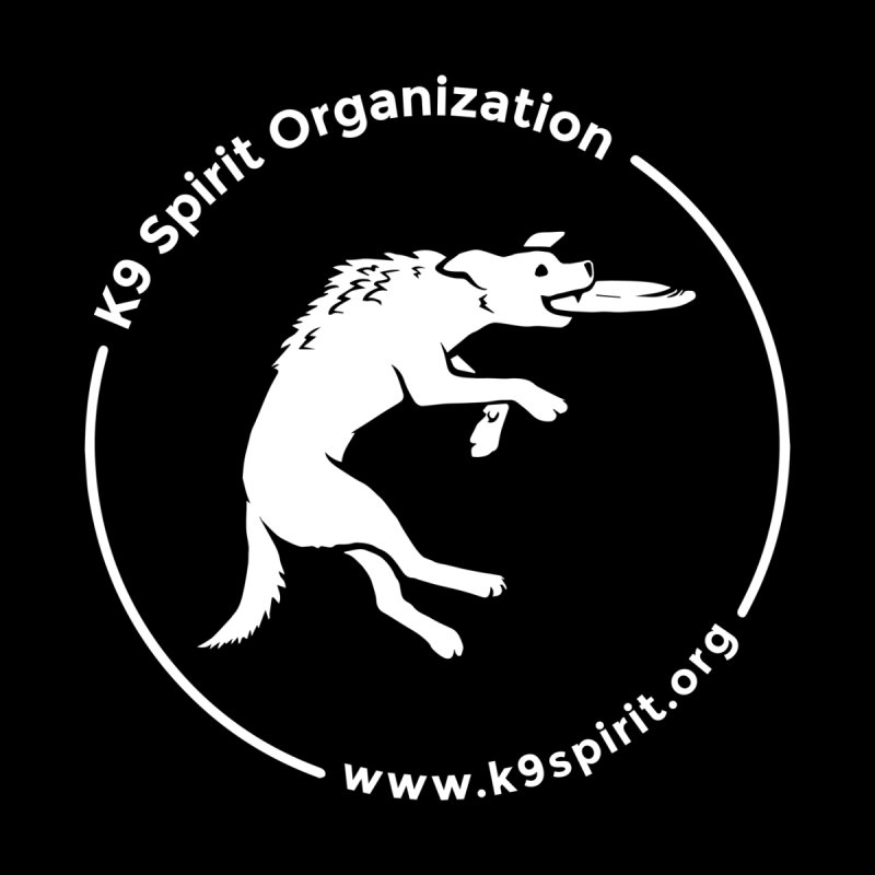 K9 Spirit Organization Logo Design Men's T-Shirt by Flying Canines Shop