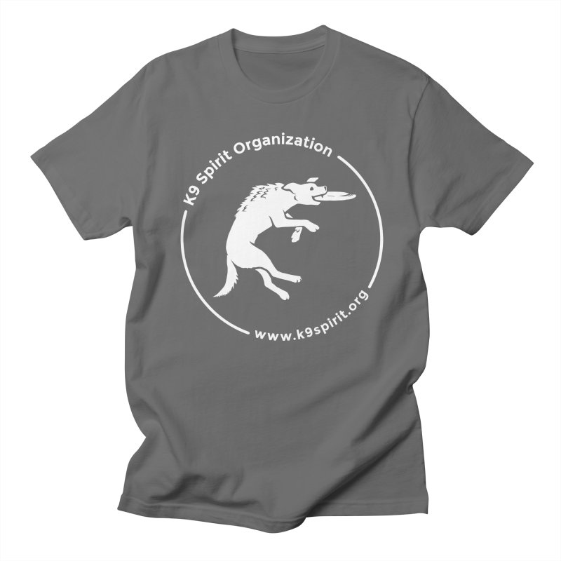 K9 Spirit Organization Logo Design Men's Regular T-Shirt by Flying Canines Shop