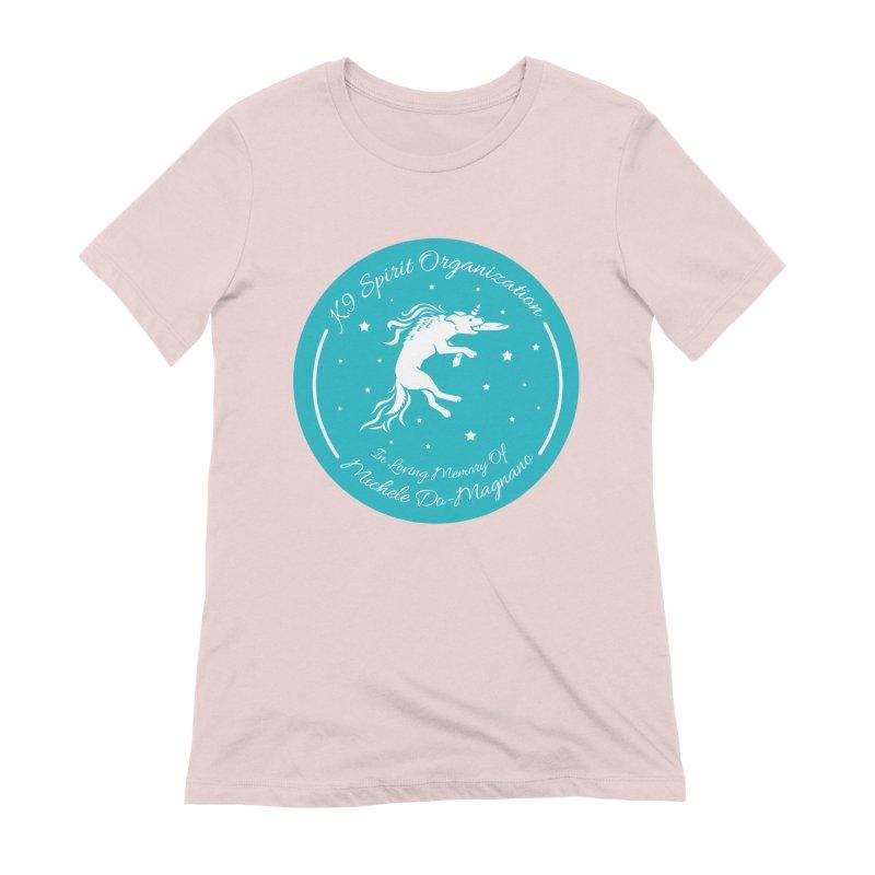 K9 Spirit Organization Michele Memorial Design Women's T-Shirt by Flying Canines Shop
