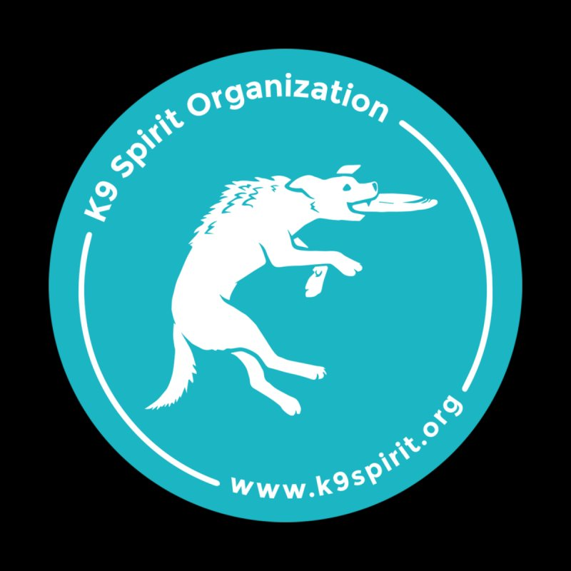 K9 Spirit Organization Circle Logo Design Accessories Sticker by Flying Canines Shop