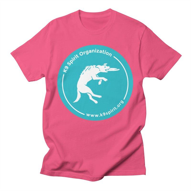 K9 Spirit Organization Circle Logo Design Men's T-Shirt by Flying Canines Shop