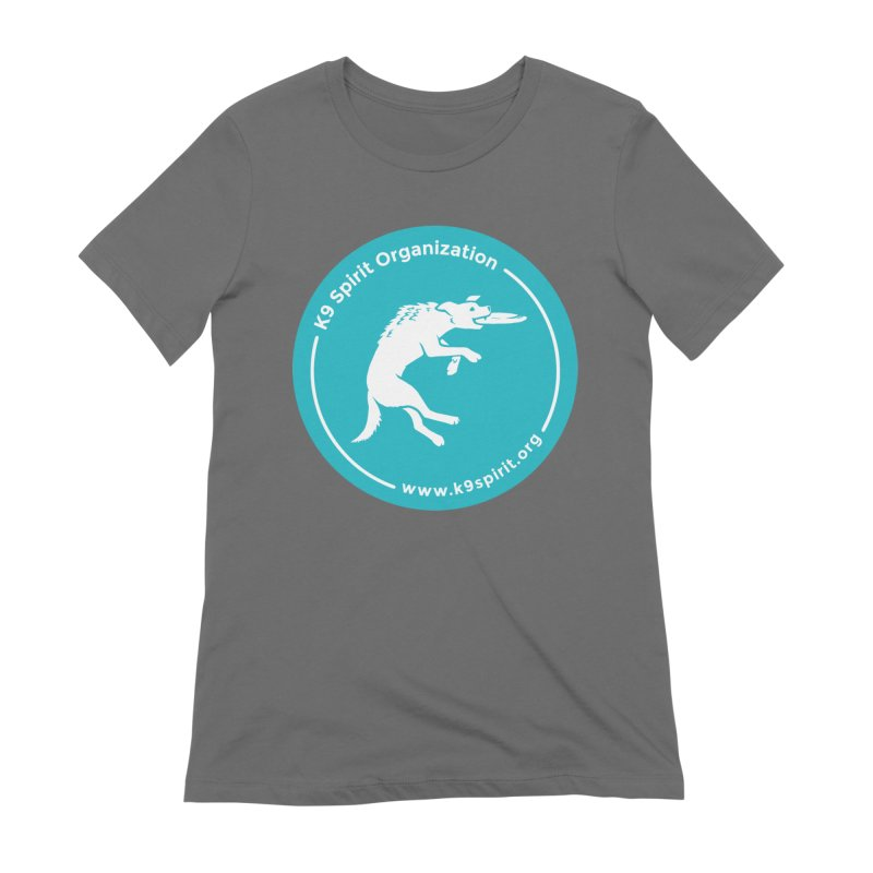K9 Spirit Organization Circle Logo Design Women's T-Shirt by Flying Canines Shop