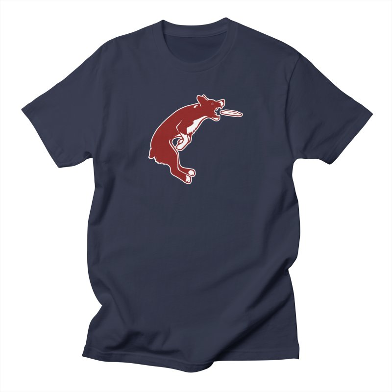 Sky High Flying Canines Logo Design Men's T-Shirt by Flying Canines Shop
