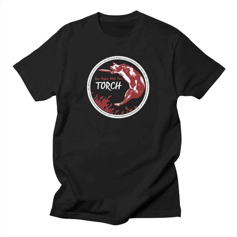 """Torch """"The Champion"""" Design Women's T-Shirt by Flying Canines Shop"""