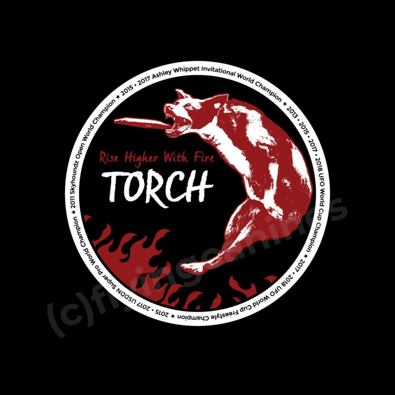 "Torch ""The Champion"" Design Men's T-Shirt by Flying Canines Shop"