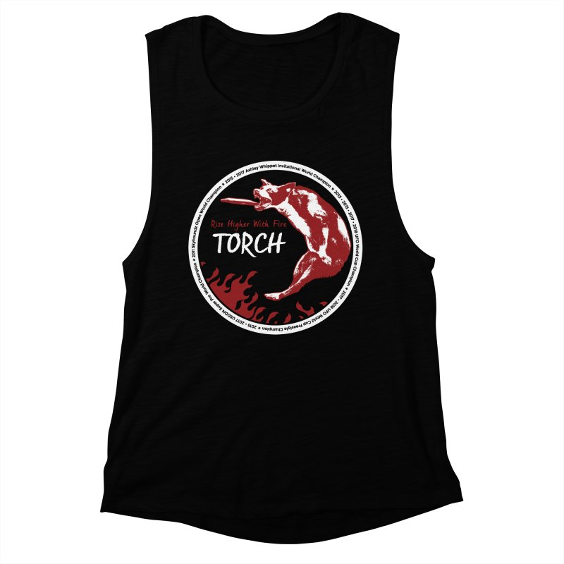 """Torch """"The Champion"""" Design Women's Tank by Flying Canines Shop"""