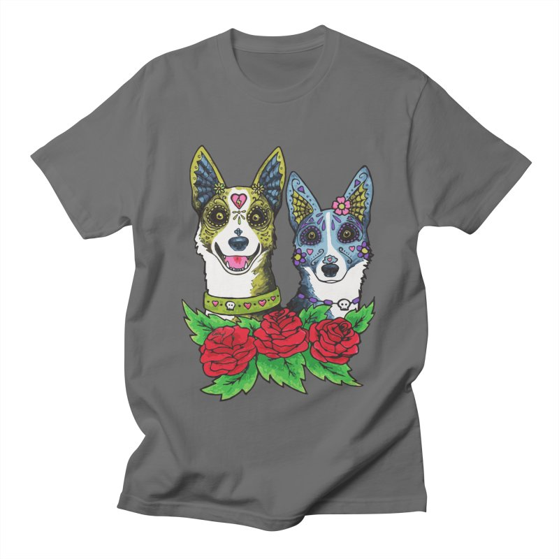 Sugar Skull Dogs Design Women's T-Shirt by Flying Canines Shop