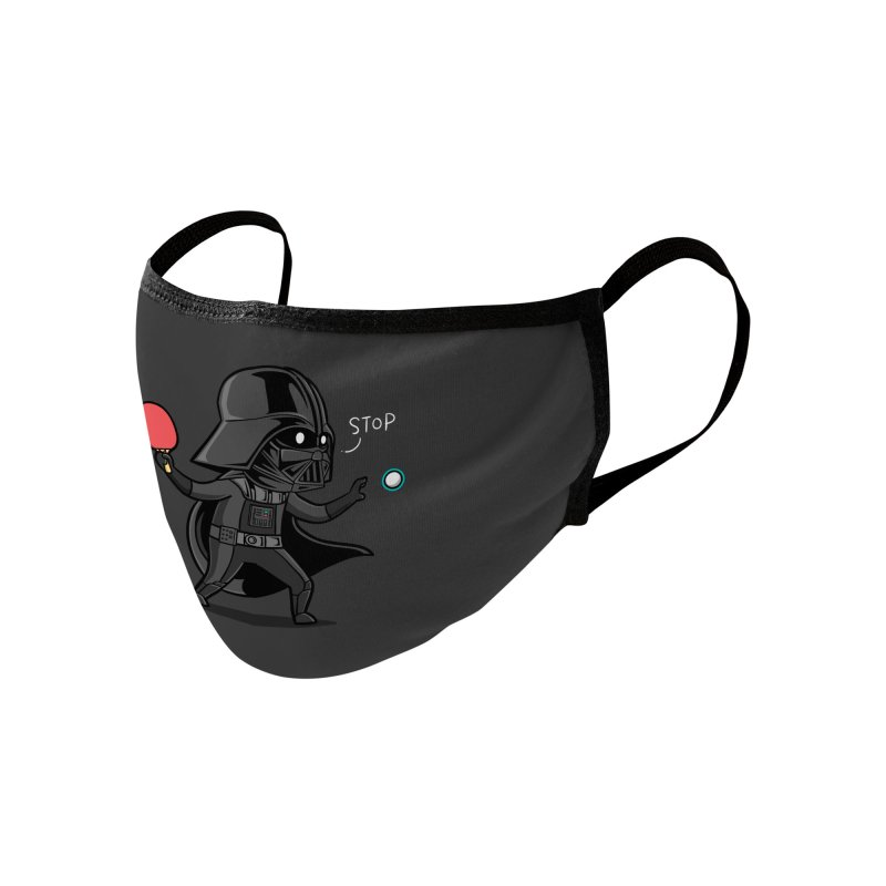 Sporty Buddy - Table Tennis Accessories Face Mask by Flying Mouse365