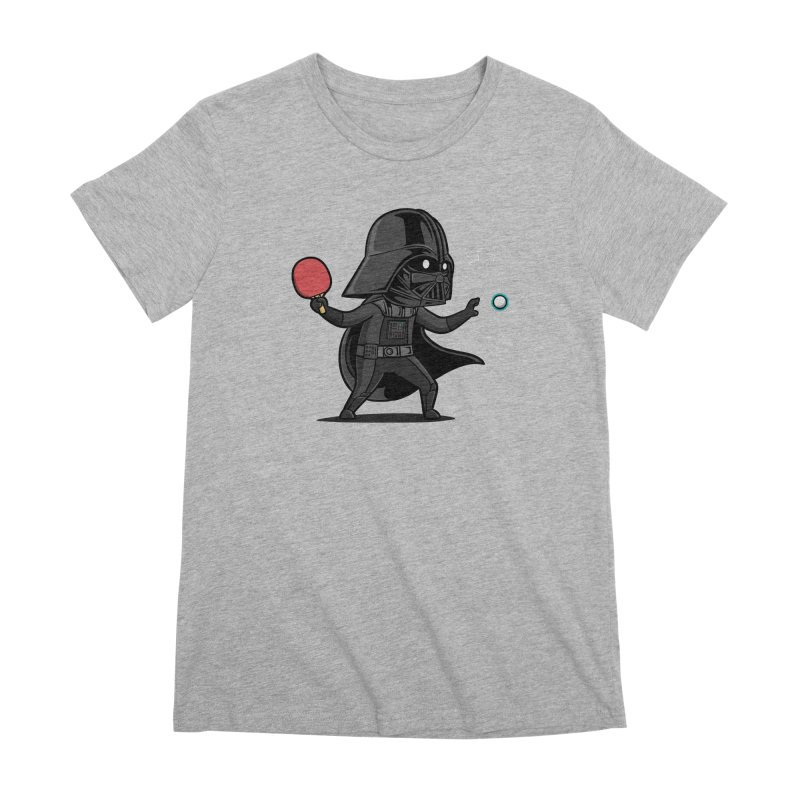 Sporty Buddy - Table Tennis Women's Premium T-Shirt by Flying Mouse365