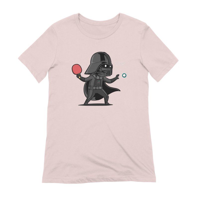 Sporty Buddy - Table Tennis Women's Extra Soft T-Shirt by Flying Mouse365