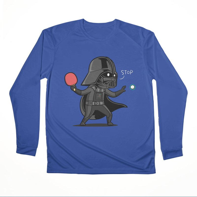 Sporty Buddy - Table Tennis Men's Performance Longsleeve T-Shirt by Flying Mouse365