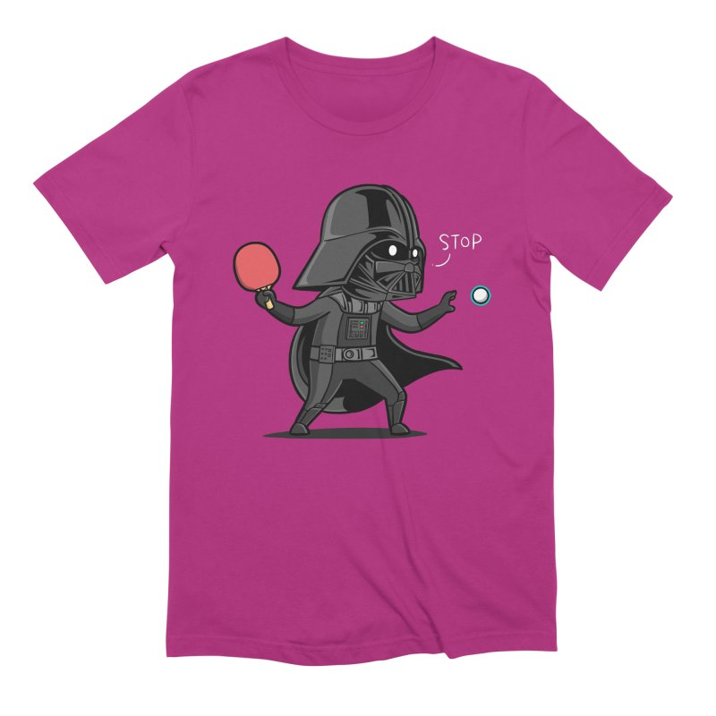 Sporty Buddy - Table Tennis Men's Extra Soft T-Shirt by Flying Mouse365