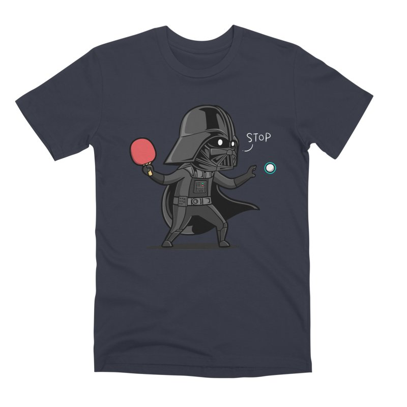 Sporty Buddy - Table Tennis Men's Premium T-Shirt by Flying Mouse365