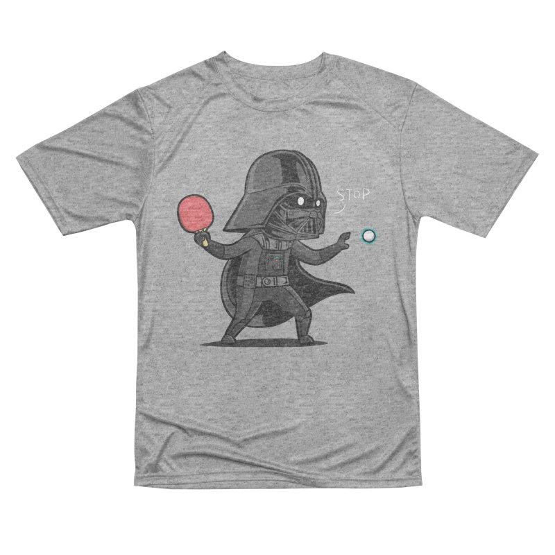 Sporty Buddy - Table Tennis Women's Performance Unisex T-Shirt by Flying Mouse365