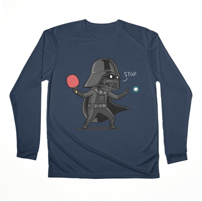 Sporty Buddy - Table Tennis Women's Performance Unisex Longsleeve T-Shirt by Flying Mouse365