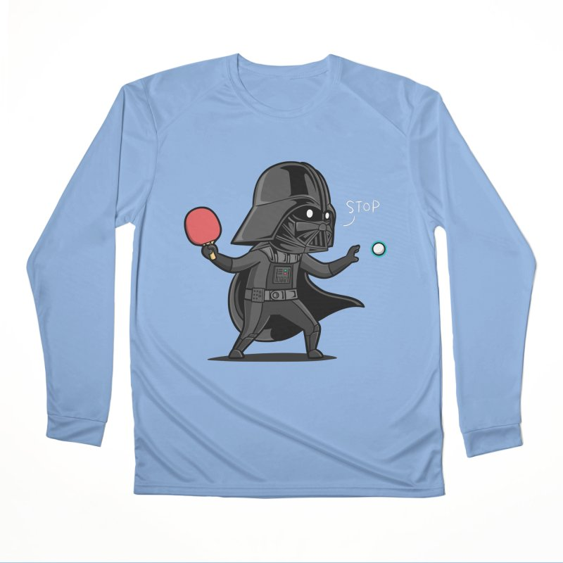 Sporty Buddy - Table Tennis Women's Longsleeve T-Shirt by Flying Mouse365