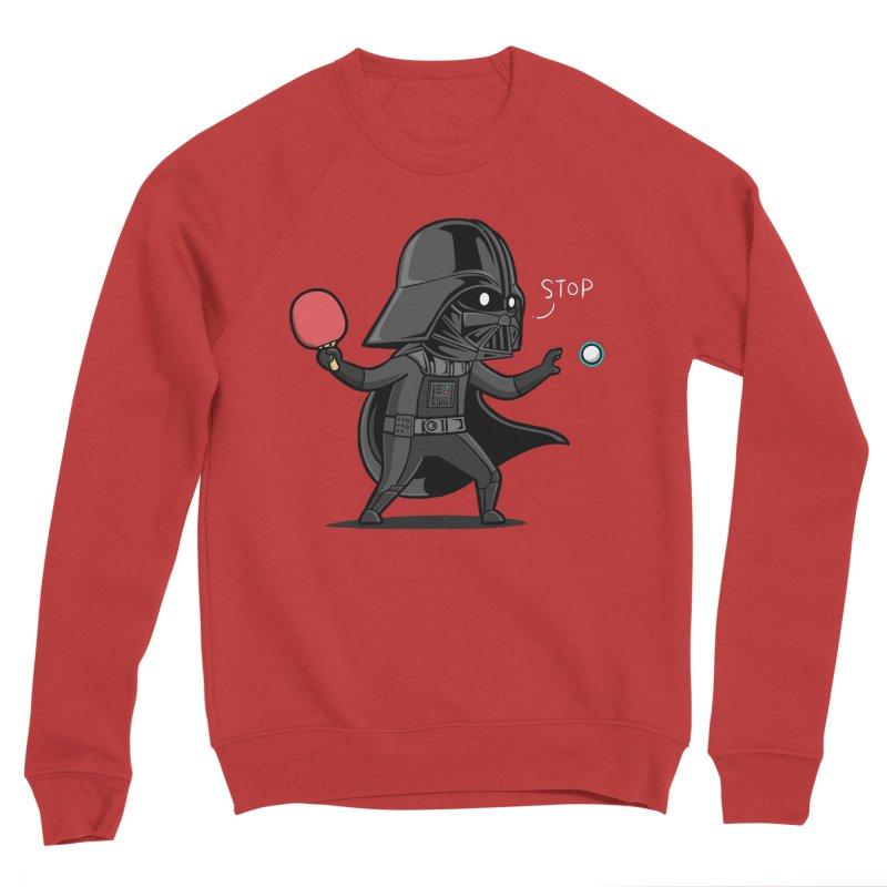 Sporty Buddy - Table Tennis Women's Sponge Fleece Sweatshirt by Flying Mouse365
