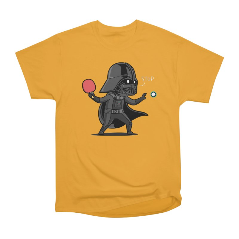 Sporty Buddy - Table Tennis Women's Heavyweight Unisex T-Shirt by Flying Mouse365