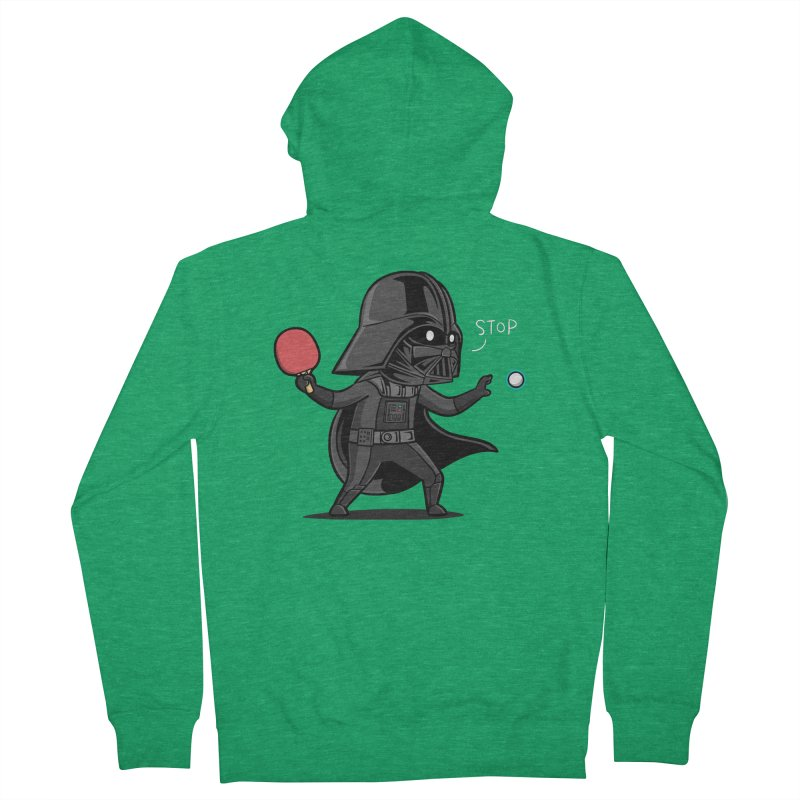 Sporty Buddy - Table Tennis Women's Zip-Up Hoody by Flying Mouse365