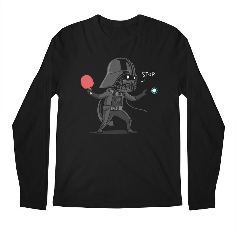 Sporty Buddy - Table Tennis Men's Regular Longsleeve T-Shirt by Flying Mouse365