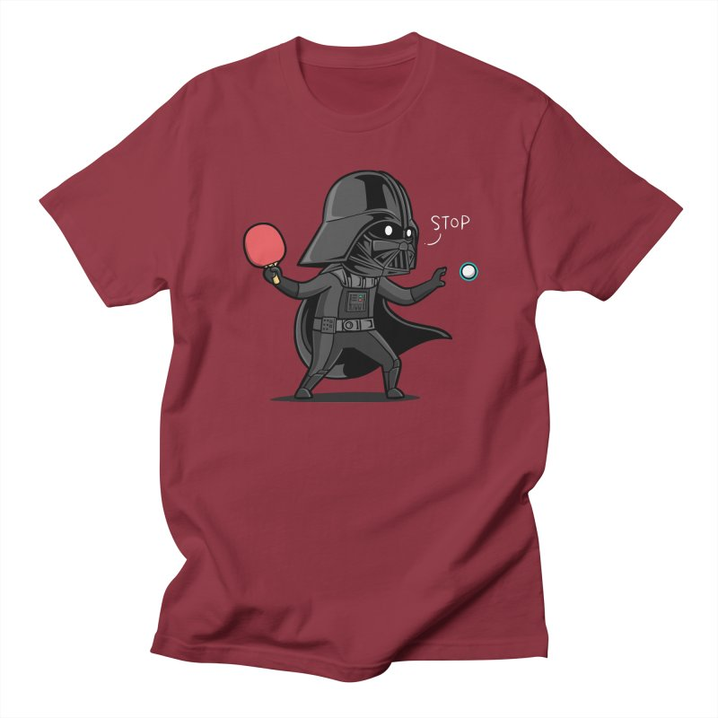 Sporty Buddy - Table Tennis Men's Regular T-Shirt by Flying Mouse365