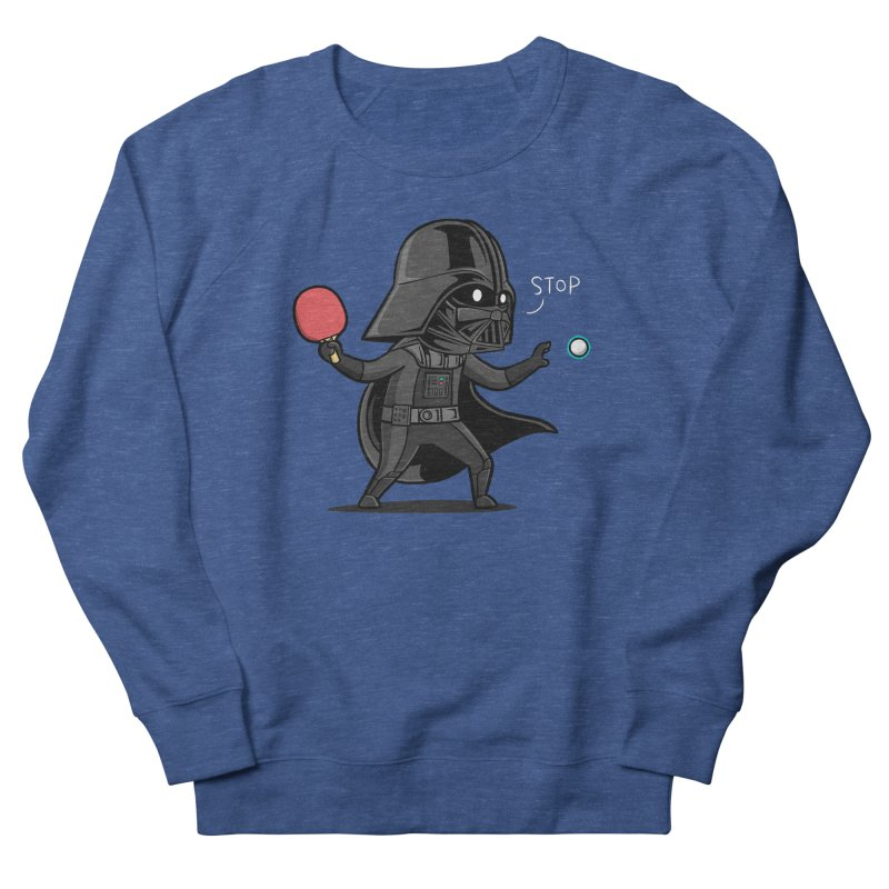 Sporty Buddy - Table Tennis Women's French Terry Sweatshirt by Flying Mouse365