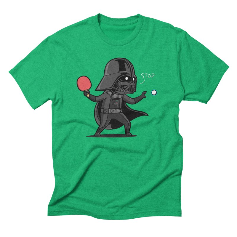 Sporty Buddy - Table Tennis Men's Triblend T-Shirt by Flying Mouse365
