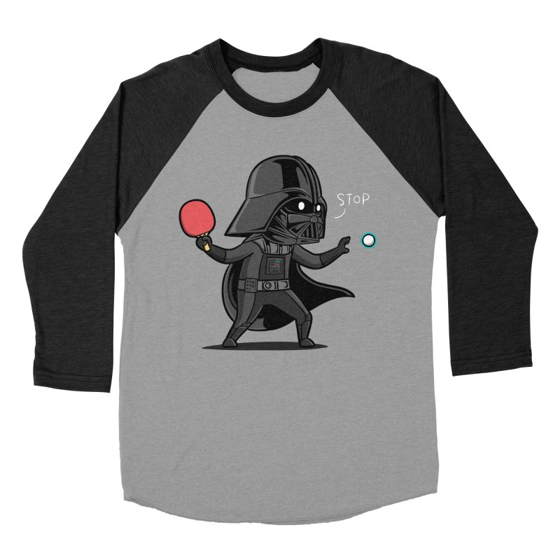 Sporty Buddy - Table Tennis Men's Baseball Triblend Longsleeve T-Shirt by Flying Mouse365