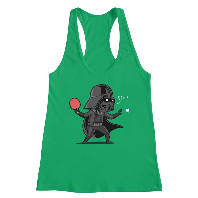 Sporty Buddy - Table Tennis Women's Tank by Flying Mouse365